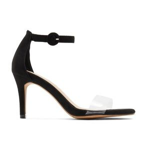 💜NWT Clear Band Heels by KStudio